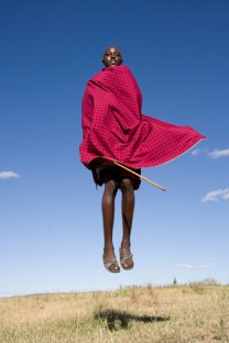 Jumping Massai